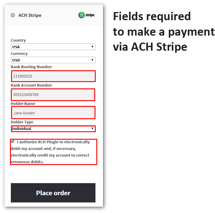 Woocommerce Stripe ACH Gateway – Dealsdom | Official Website